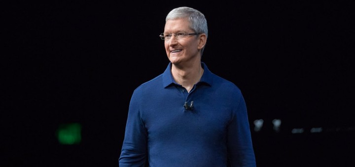 Tim Cook on stage in San Fransisco at Apple's 2016 September iPhone Event!